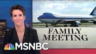 New Russia Contact Revelations In Donald Trump Jr. Senate Interview | Rachel Maddow | MSNBC
