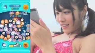 人気急上昇中の美少女「今野杏南」がLINE ディズニーツムツムに挑戦。 ...