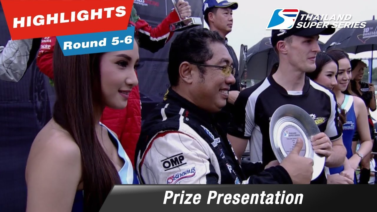 Prize Presentation Thailand Super Series 2017 : Round 5-6 @Chang International Circuit