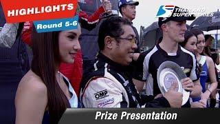 Prize Presentation Thailand Super Series 2017 : Round 5-6 @Chang International Circuit