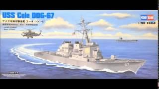 Arleigh Burke Class DDG 1:700 USS Cole