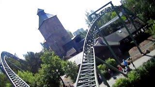 Fluch von Novgorod front seat on-ride HD POV Hansa Park