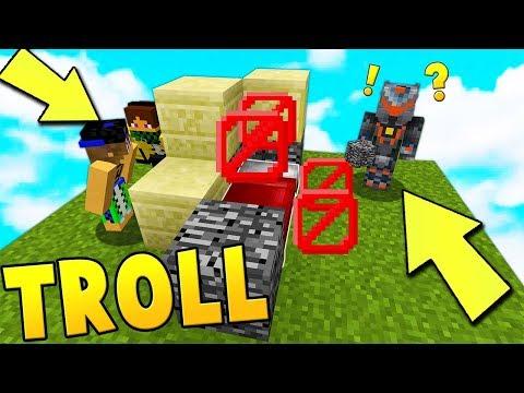 TROLL con MARCY A 8 GIOCATORI STRANIERI! - Minecraft ITA