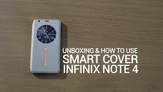 Smart Cover Infinix Note 4