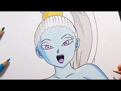 Drawing Vados (Dragon Ball Super) | Dibujando a Vados