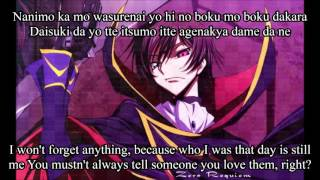 Shiawase Neiro Code Geass R2 Ending 1 Full English and Romaji Subs