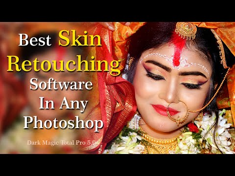 Best Skin Retouching Software In Any Photoshop   Wedding Photo Editing In HINDI