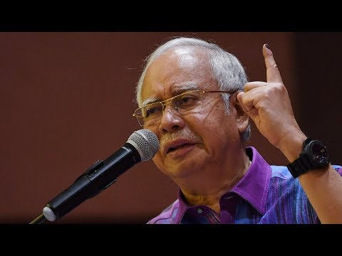 I'm not a person who steals, says Najib