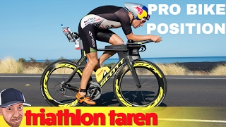 Pro Triathlete Bike Position: Sebastian Kienle