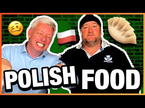 Polskie Jedzenie Dla Obcokrajowca 😋😋😋 - Challenge | DZIKIE UCHO