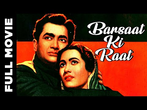 Barsaat Ki Raat (1960) Hindi Full Movie | Madhubala, Bharat Bhushan,Shyama , Mumtaz Begum