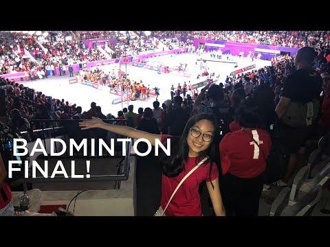 JVLOG : Nonton Final Badminton Asian Games 2018.