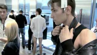 Backstage: Dolce & Gabbana Men's Spring/Summer 2010 Show