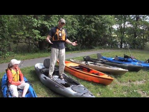 Kayak Fishing Basics:  How to Choose a Kayak