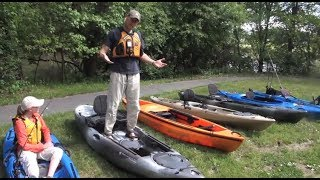 Kayak Fishing Basics:  How to Choose a Kayak(Jeff Little and Callie Shumway explain key considerations how to choose the best kayak for fishing. Whether you are paddling on a narrow river or the open ..., 2014-06-09T12:31:49.000Z)