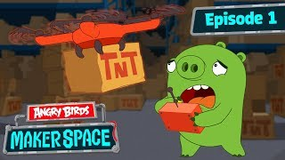 Angry Birds MakerSpace | Drone FAIL! - S1 Ep1