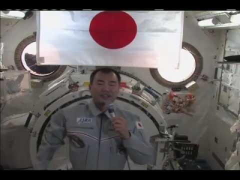 JAXA Astronaut  Discusses Life in Space
