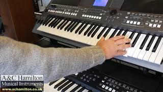 Yamaha PSR-SX600 Sound Comparison and Demonstration