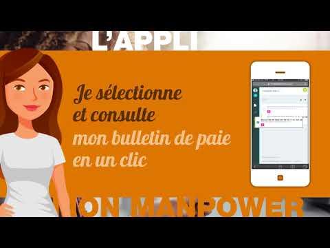 Ep 5 La Webserie Appli Mon Manpower Acceder a son bulletin de paie electronique