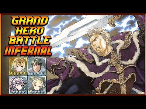 [F2P] INFERNAL Zephiel Grand Hero Battle (No Skill Inheritance) - Fire Emblem Heroes