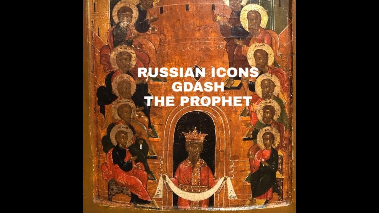 RUSSIAN ICONS EXCLUSIVE VIDEO (BLACK HOLY PEOPLE)