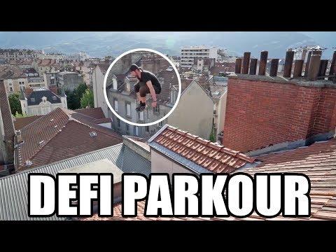 Parkour : un saut bien stressant sur les toits de Grenoble ! (feat. Yoann