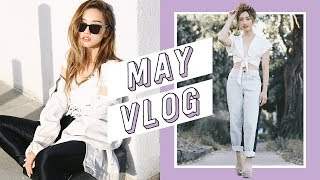 May Monthly Vlog | clothesencounters