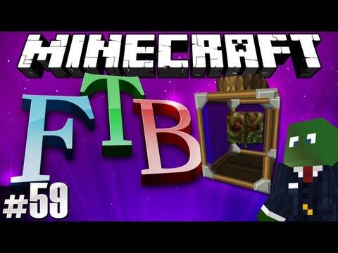 Minecraft Feed The Beast #59 - Brain in a jar!