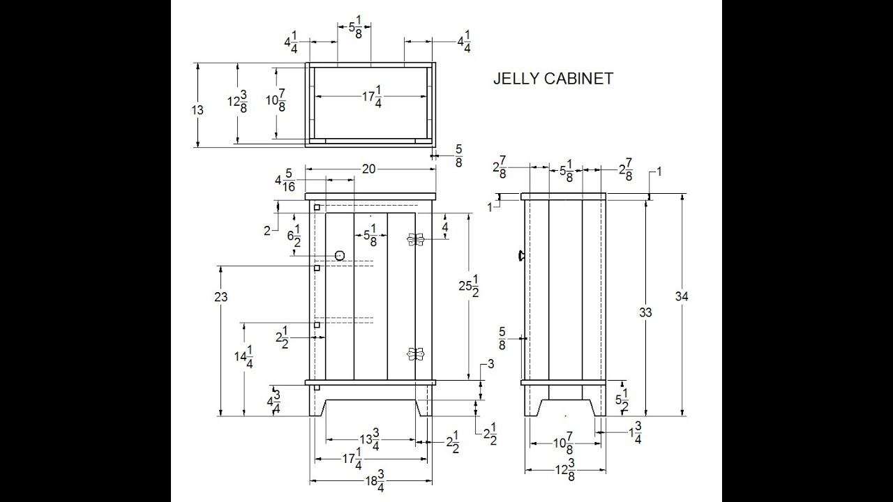 Jelly Cabinet Build - YouTube
