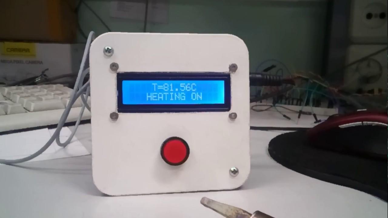 Контроллер температуры для самогонного аппарата самогонный аппарат феникс комплектация