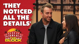 Jesse and Mel's kitchen revealed | The Block 2019