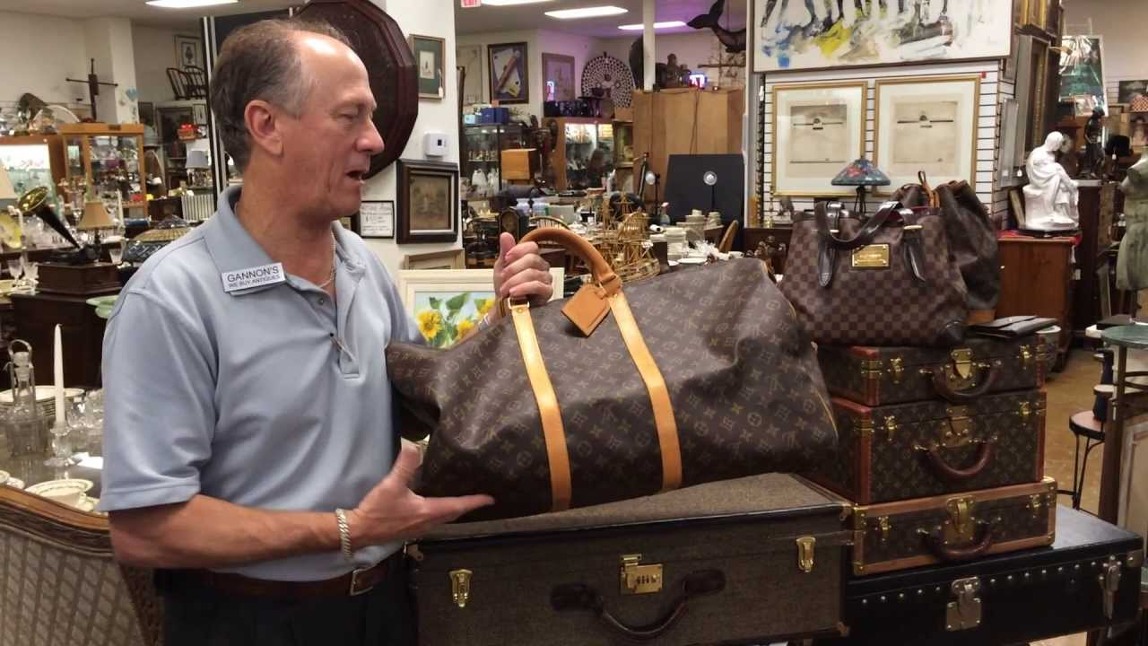 79023417f734 Louis Vuitton Keepall Bandouliere 60 Duffel Bag - YouTube