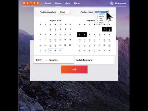 KAYAK Hack: Flex Dates