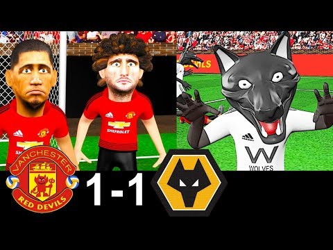 Man United vs Wolves 1-1 | Parody Goals | highlights | 22/09/2018 | ⚽ Fred ⚽ Moutinho