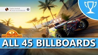 Burnout Paradise (PS4) - Big Surf Island - All 45 Billboards Locations Trophy / Achievement Guide