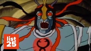 25 WEIRDEST Cartoon Villains