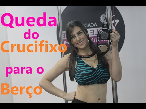 Queda do Crucifixo para o Berço - Pole Dance por Alessandra Rancan
