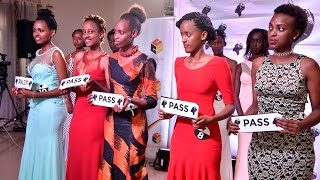 MISS RWANDA 2017: FIVE GIRLS WERE PICKED TO REPRESENT EASTERN PROVINCE