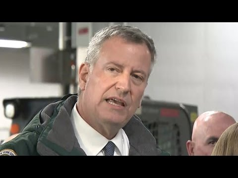 NYC mayor declares state of emergency as blizzard looms