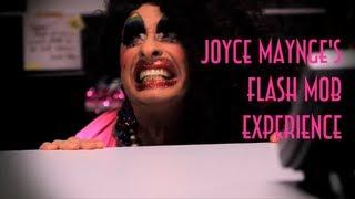 Joyce Maynge's Flash Mob Experience - Emvb - Emerson Martins Video Blog 2011