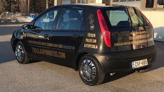 Fiat Punton maalipinnan kiilotus ja keraaminen pinnoitus | Stardust pcs 5 | Tuulilasipinnoitus.com