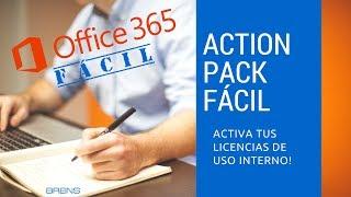 ¿Cómo Comprar Action Pack y Activar Licencias de Uso Interno? BREINS OFFICE 365 FÁCIL