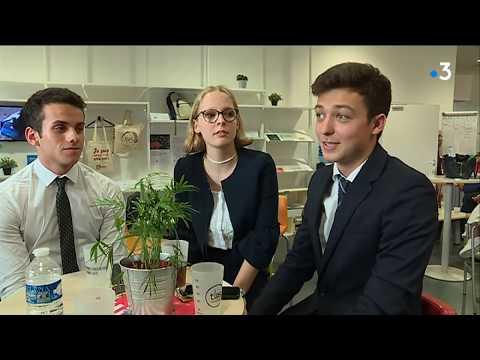 La folle journée des candidats à l'école de commerce TBS à Toulouse