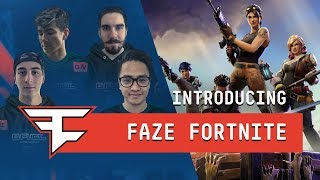 Introducing the FaZe Fortnite Pro Team