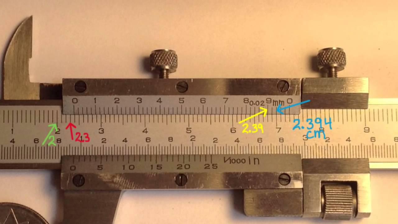 how to make a paper vernier caliper