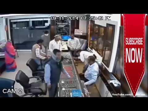 Grand Robbery in Indian Jewelery Shop