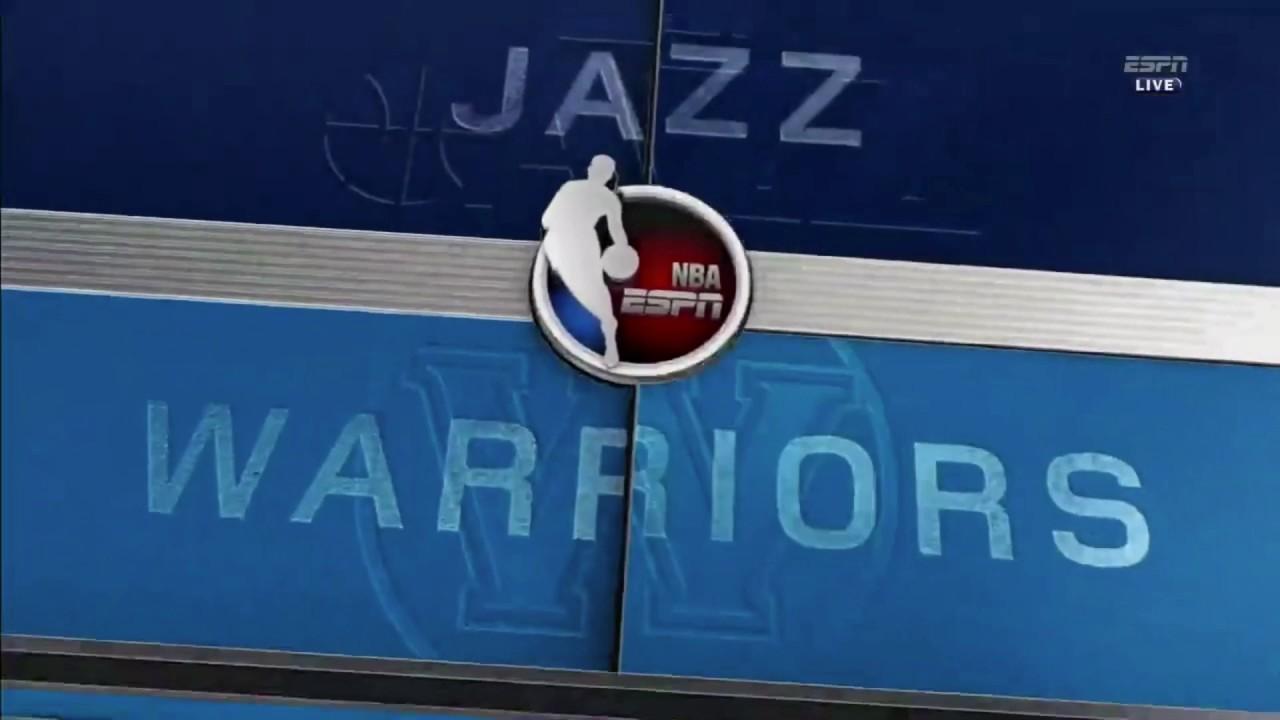 NBA Playoffs On ESPN Theme  GSW VS UTAH Game 2 - YouTube 48937dc01c55