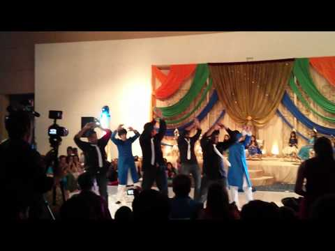 Rabiya & Omair's Mehndi Dance - Arkansas Boys