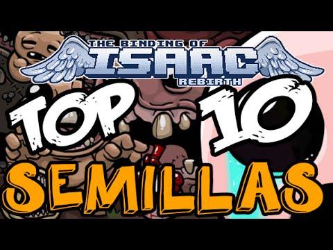 Top 10 Semillas The Binding of Isaac Rebirth