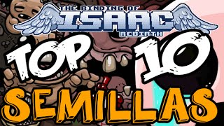 Top 10 Semillas The Binding of Isaac Rebirth